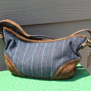 denim Coach purse